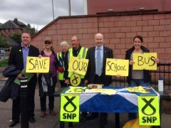 Save our school bus stall.jpg