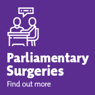Parliamentary Surgeries - Find out more by clicking here